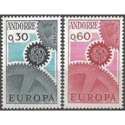 Andora (pranc) 1967. CEPT:...