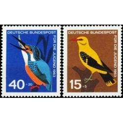 Germany 1963. Birds