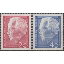 Germany 1964. Heinrich Luebke