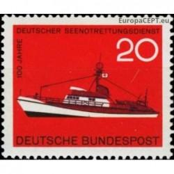 Germany 1965. Ship transport
