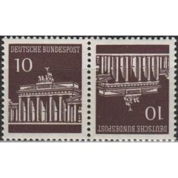 Germany 1966. Brandenburg Gate