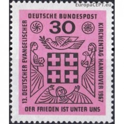 Vokietija 1967. Evangelikų...