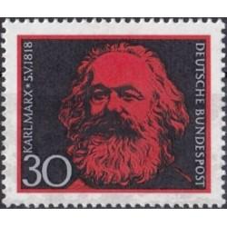 Vokietija 1968. Karlas Marksas
