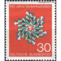 Germany 1968. Labour Unions