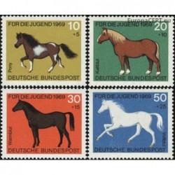 Germany 1969. Horses