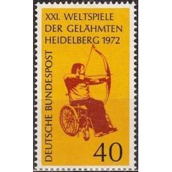 Vokietija 1972. Neįgaliųjų...
