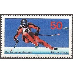 Germany 1978. Skiing