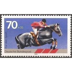 Germany 1978. Horse riding