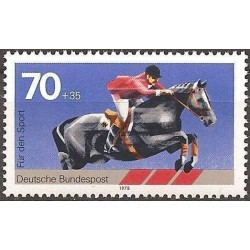 Vokietija 1978. Žirgų sportas