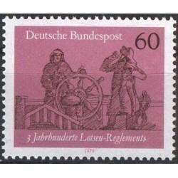 Germany 1979. Ship transport
