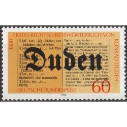 Vokietija 1980. Dudeno žodynas