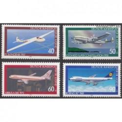Vokietija 1980. Lėktuvai