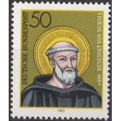 Germany 1980. Benedict of...