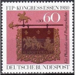 Vokietija 1980. Filatelistų...