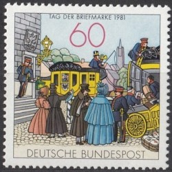 Germany 1981. Stamp Day