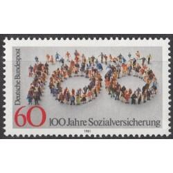 Vokietija 1981. Socialinis...