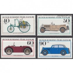 Germany 1982. Vintage cars