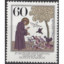 Germany 1982. Saint Francis...