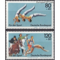 Germany 1983. Sport events