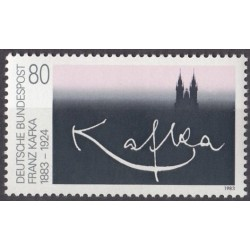 Germany 1983. Franz Kafka...