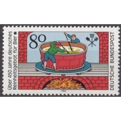 Vokietija 1983. Alaus gamyba