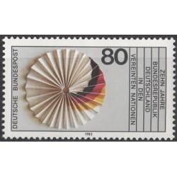 Germany 1983. UNO membership