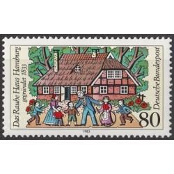 Germany 1983. Rauhes Haus...