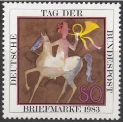 Vokietija 1983. Pašto...