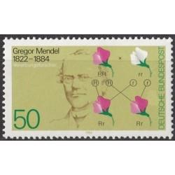 Germany 1984. Gregor Mendel...