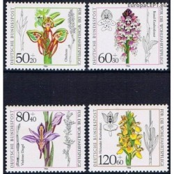 Vokietija 1984. Orchidėjos
