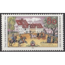 Germany 1984. Stamp Day