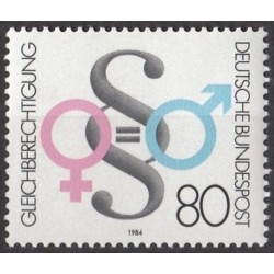 Germany 1984. Equal rights