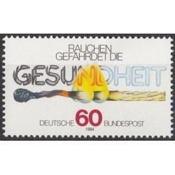 Germany 1984. Anti-smoking...