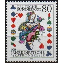 Germany 1986. Skat (card game)