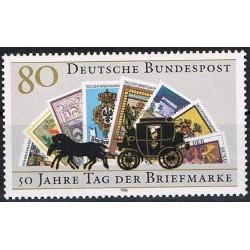 Vokietija 1986. Pašto...