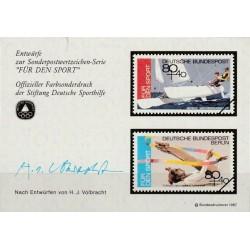 Germany 1987. Sports...