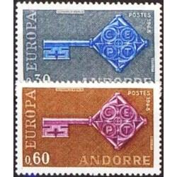 Andorra (french) 1968. Key...