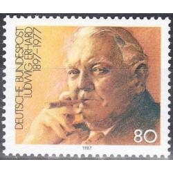 Germany 1987. Ludwig Erhard...
