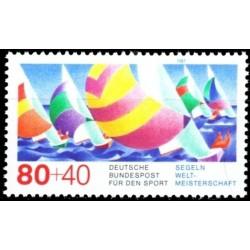 Germany 1987. Sailing