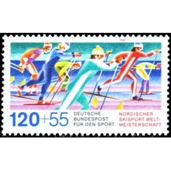 Germany 1987. Skiing