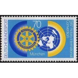 Vokietija 1987. Rotary...