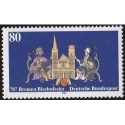 Vokietija 1987. Bremeno...