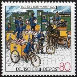 Germany 1987. Stamp Day