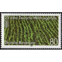 Germany 1987. World Hunger Aid