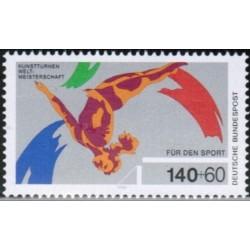 Germany 1989. Gymnastics