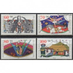 Germany 1989. Circus
