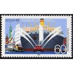 Germany 1989. Port Hamburg