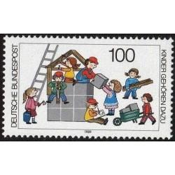 Germany 1989. Children games