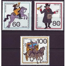 Germany 1989. Post history