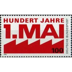 Vokietija 1990. Gegužės 1-oji